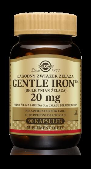 Solgar Gentle Iron (diglicynian żelaza) 20 mg