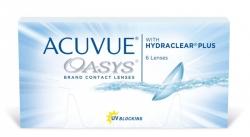 Soczewki dwutygodniowe Acuvue Oasys™ 6szt