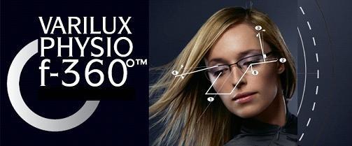 Varilux Physio 3.0 f-360 z antyrefleksem Crizal Sapphire UV