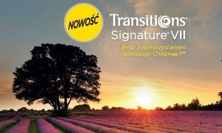 Transitions Signature VII  Ormix 1.6 z antyrefleksem Crizal Sapphire UV
