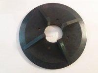 Czterołopatkowy deflektor na talerze wysiewające do rozsiewaczy UPR 10 - 12.5