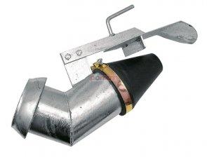 Łyżka rozlewająca PERROT 6 ze złączką mufą z mocowaniem haczykowym