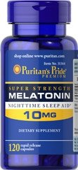 MELATONINA 10 mg - 120 kapsułek sen bezsenność