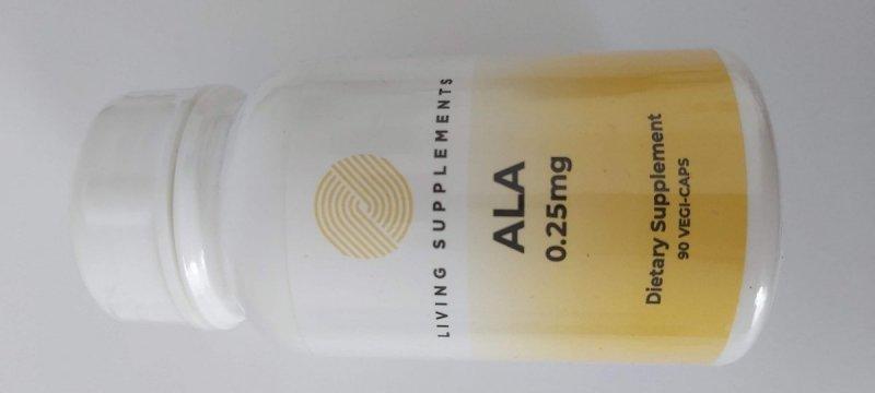 Kwas alfa liponowy ALA 0.25 mg - 90 kapsułek Alpha Lipoic Acid