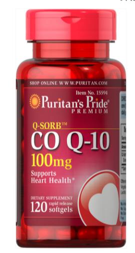 koenzym CO Q-10 100mg - 120 kapsułek