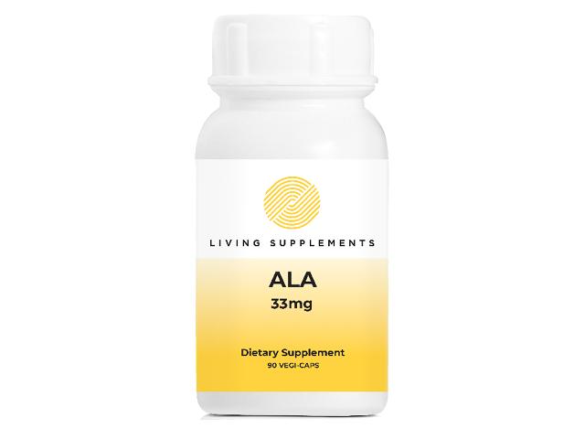 Kwas alfa liponowy ALA 33 mg - 90 kapsułek Alpha Lipoic Acid