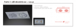 Wpust halogenowy  Fasto II LED ciepłe/zimne Orlicki Design