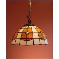Lampa wisząca witrażowa PARASOL średnica 25 cm Ambrela