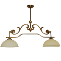 Żyrandol mosiężny JBT Stylowe Lampy WZMB/W57/2