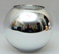 Klosz szklany kula otwarta 15cm E27