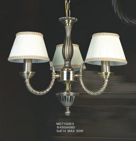 Lampa wisząca, żyrandol Italux Frati MD71028/3