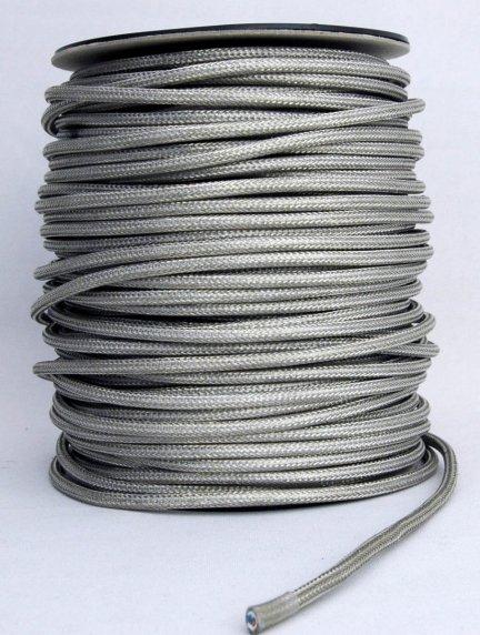 Kabel w oplocie metalowym przewód 2x0,75 Lagos