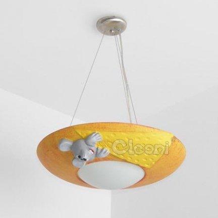 CLEONI ŻYRANDOL MILO mysz żółto-pomarańczowa ZW103C5495