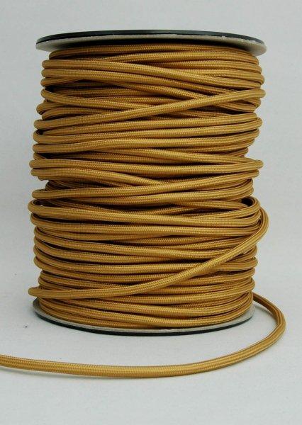 Kabel w oplocie 2x0,75 złoty