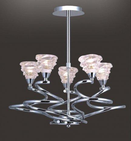 Lampa wisząca, żyrandol Italux Time MDM1582/5