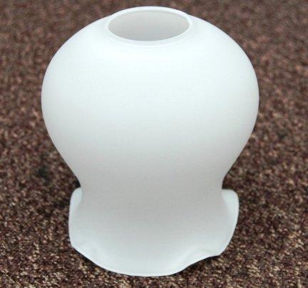 Klosz szklany hiszpański K3322/14BL- klosze do lamp