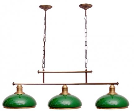 Żyrandol mosiężny JBT Stylowe Lampy WZMB/W34/3ŚD/ 50080