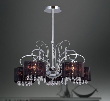 Lampa wisząca, żyrandol Italux Span MDM1583/5