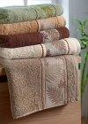 Ręcznik Bambusowy - 50x90 Tropical  TERAKOTA