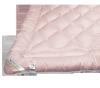 Kołdra wełniana, wełna Inter-Widex 180x200 wz. różowy
