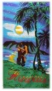 Ręcznik plażowy Hawaii  - rozmiar 70x148