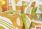 Poszewki na poduszki 40x40 bawełna satynowa wz. 0682