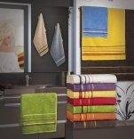 Ręcznik PROMOCJA, grube ręczniki 50x90 - kolekcja Mars wz. żółty