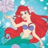 Ręcznik magiczny 30x30 Syrenka Ariel