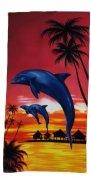Ręcznik plażowy wz. PL-63 - rozmiar 70x148