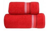 Ręcznik OMBRE 70x140 kolor czerwony