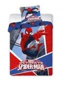 Pościel licencyjna Disney 100% bawełna 160x200 lub 140x200 SPIDER MAN 007