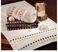 Ręcznik PROMOCJA, grube ręczniki 50x90 - kolekcja PUNTOS wz. beżowy