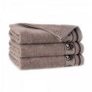 Ręcznik frotte PUSZCZYK 30x50 kolor cynamonowy