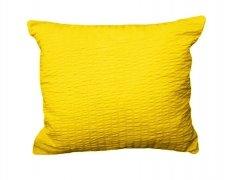 Poszewka 50x70 - KORA bawełniana wz. 26 żółty