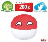 Poduszka dekoracyjna - Polandball