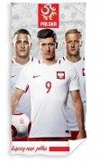 Ręcznik licencyjny kibica  - Mix piłkarzy - rozmiar 70x140 wz. PZPN 172057