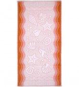 Ręcznik FLORA OCEAN 70x140 kolor brzoskwinia