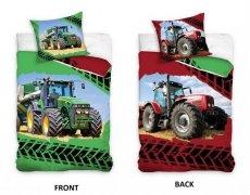 Pościel młodzieżowa 100% bawełna 160x200 lub 140x200 - Traktor wz. NL184001