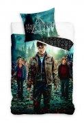 Pościel licencyjna 100% bawełna 160x200 lub 140x200 -  Harry Potter - HP188014