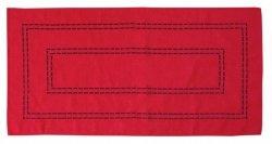 Obrus Haftowany Bruna 59-R 60x120 cm kolor: czerwony