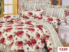Poszewki na poduszki 40x40 bawełna satynowa wz.1220