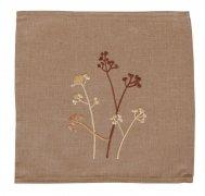 Obrus Haftowany Bruna 40x170 cm wz. kwiaty