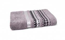 Ręczniki Silver - rozmiar 70x140 wz. Szary