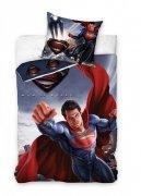 Pościel licencyjna Disney 100% bawełna 160x200 lub 140x200 - Superman wz. 8002