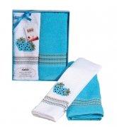 Komplet ręczników kuchennych Mimoza Collection 2x 50x70  wz. T30015-B