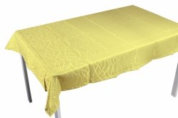 Obrus plamoodporny Jedeka 130x180 prostokat Kolor: Żółty