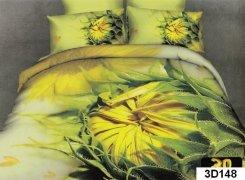 Pościel 3D satyna bawełniana roz. 160x200 wz. 3D148