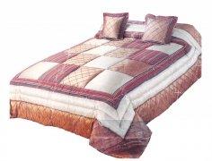 Narzuta na łóżko 220x240 + 2 poszewki 40x40 wz. Wiktoria 26