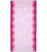 Ręcznik FLORA OCEAN 70x140 kolor różowy