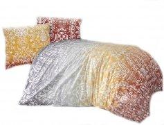 Pościel bawełniana Premium DARYMEX kolekcja Exclusive 200x220, 200x200 lub 180x200 + 2x70x80 wz. Vizyon Orange